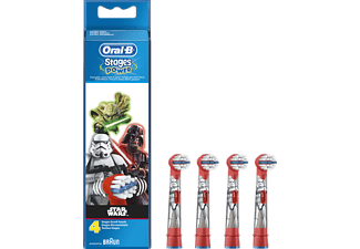 ORAL-B Power Kids Refillborsthuvuden med Temat Star Wars x4