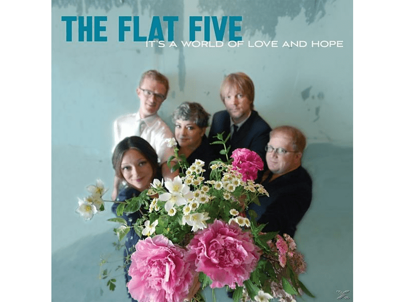Flat Five - It's A World Of Love And Hope (Heavyweight LP+MP3) [LP + Download]