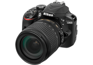 NIKON Appareil photo reflex D3400 + AF-P 18-105mm VR (VBA490K003)