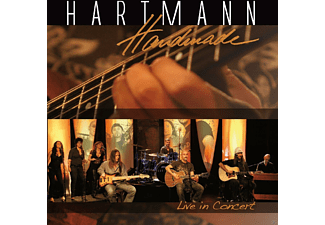 Oliver Hartmann - Handmade-Live In Concert - (CD + DVD Video)
