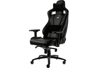 NOBLECHAIRS Epic Series Faux Leather Gaming Chair- Svart