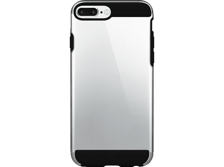 BLACK ROCK Air , Backcover, Apple, iPhone 6 Plus, iPhone 6s Plus, iPhone 7 Plus, Kunststoff/Polycarbonat/Thermoplastisches Polyurethan, Schwarz
