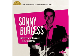 Sonny Burgess - Sonny's Back In Town - (EP (analog))