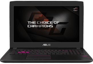 ASUS GL502VT-FY035T, Notebook mit 15.6 Zoll Display, Core™ i7 Prozessor, 8 GB RAM, 1 GB HDD, 256 GB SSD, GeForce GTX 970M, Black