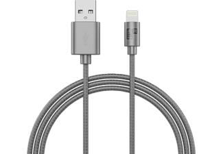 BEHELLO Câble Lightning vers USB Silver (BEHCBL00017)