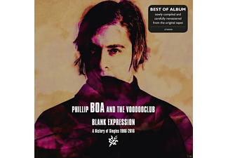 Phillip And The Voodooclub Boa - BLANK EXPRESSION - A HISTORY OF SINGLES (STANDARD) - (CD)