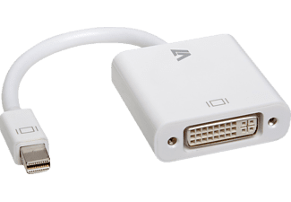 VIDEO SEVEN CBL-MD1WHT, Mini DP auf DVI Adapter, 100 mm