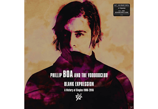 Phillip Boa, The Voodooclub - BLANK EXPRESSION - A HISTORY OF SINGLES - (LP + Download)