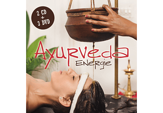 VARIOUS - Ayurveda Energie - (CD + DVD Video)