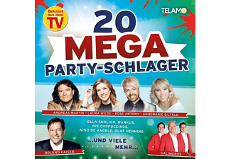 VARIOUS - Mega Party Schlager - (CD)