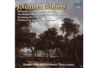 Bracha Eden, Alexander Tamir - Brahms Works For 2 Pianos - (CD)