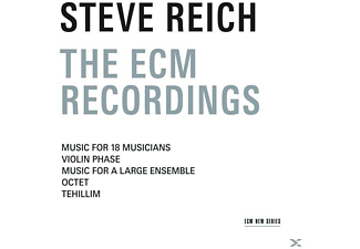Steve Reich - The Ecm Recordings - (CD)