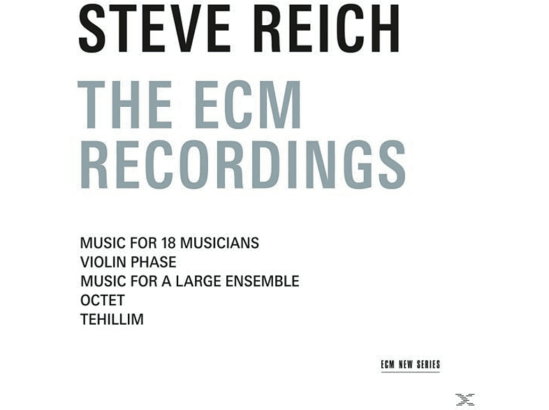 Steve Reich - The Ecm Recordings [CD]
