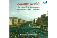 L'ecole D' Orphee - The Complete Sonatas For Violoncello And Continuo [CD]