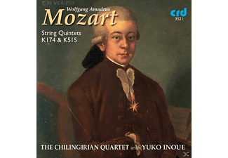 The Chilingirian Quartet - Mozart:Streichquartette 174+515 - (CD)