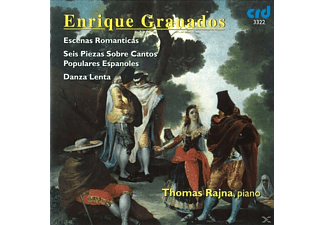 Thomas Rajna - Granados Piano Works - (CD)