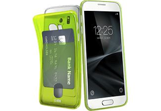 SBS MOBILE Cover Fluo Card for Samsung Galaxy S7 - Grön