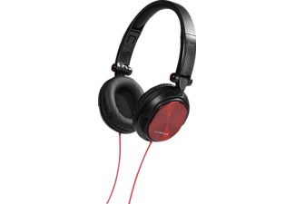 VIVANCO DJ 30 - Cuffie DJ (Over-ear, Rosso/nero)