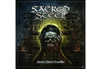 Sacred Steel - Heavy Metal Sacrifice (Black Vinyl) - (Vinyl)