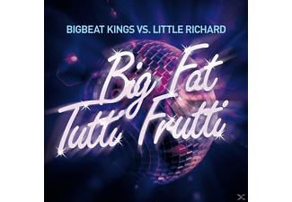 BIGBEAT KING VS.LITT, BIGBEAT KINGS VS.LITTLE RICHARD - Big Fat Tutti Frutti - (CD)