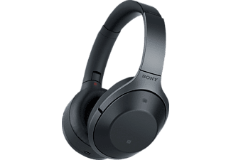 SONY MDR-1000X, Over-ear Kopfhörer, Near Field Communication, Headsetfunktion, Bluetooth, Schwarz