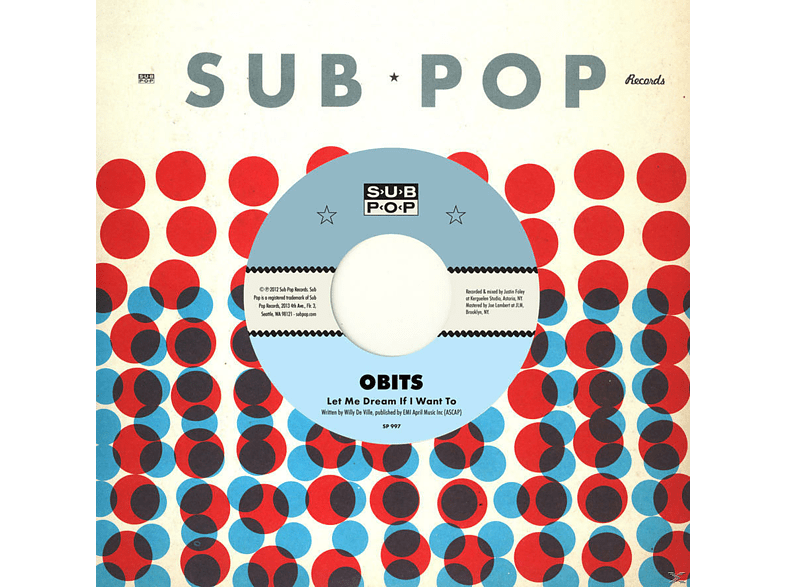 Obits - Let Me Dream If I Want To / The City Is Dead [Vinyl]