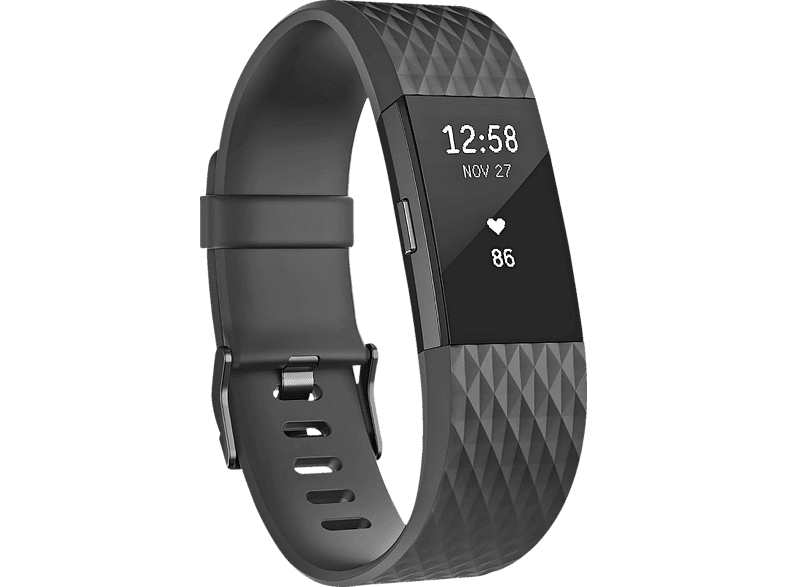FITBIT Charge 2 Special Edition Large, Activity Tracker, 165-206 mm, Schwarz