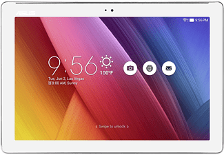 ASUS ZenPad 10, Tablet mit 10.1 Zoll, 64 GB, 2 GB RAM, Android 6 (Marshmallow), Pearl White