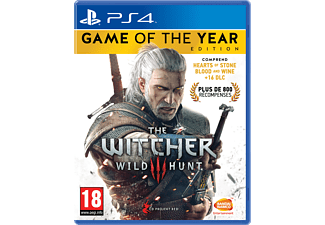 The Witcher 3 - Wild Hunt GOTY FR PS4