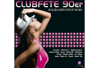 VARIOUS - Clubfete 90er-60 Club & Party Hits Of The 90's - (CD)