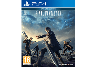 Final Fantasy XV - Day One Edition  PS4