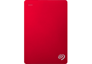 SEAGATE Disque dur externe 4 TB Backup Plus Portable Rouge (STDR4000902)
