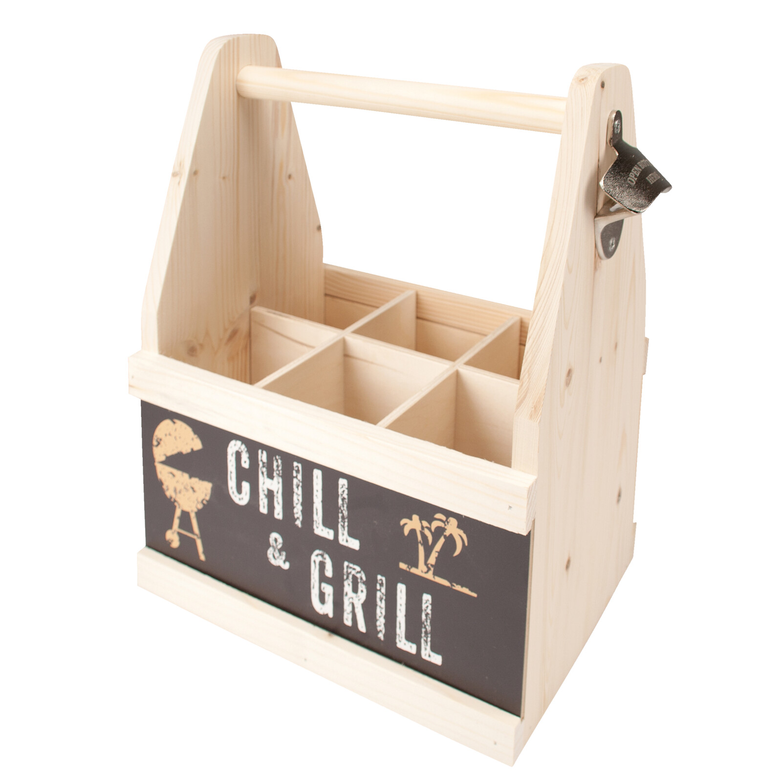 CONTENTO 866643 Beer Caddy chill & grill Flaschenträger | eBay
