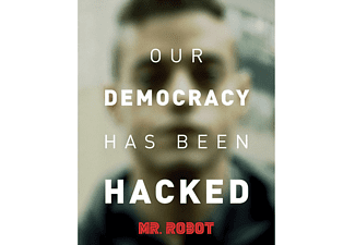 Mr.Robot Poster Democracy
