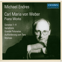 Michael Endres - Weber: Piano Works [CD]