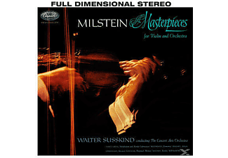 Nathan Milstein, Concert Arts Orchestra - Masterpieces For Violin And Orchestra - (Vinyl)