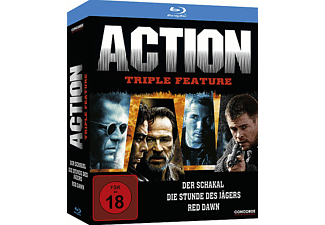 Action Triple Feature - (Blu-ray)