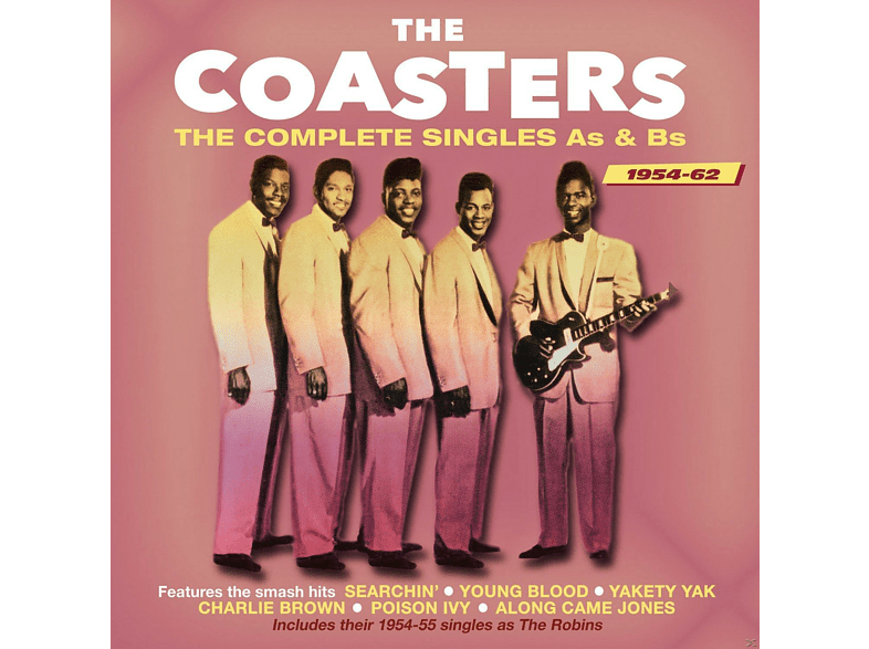The Coasters - The Complete Singles As & Bs 1954-62 [CD]