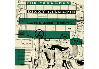 Dizzy Gillespie - The Fabulous Dizzy Gillespie Pleyel Jazz Concert 1 - (CD)