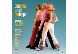 VARIOUS - The Girls Want The Boys! Swedens Beat Girls 1966-1 - (Vinyl)