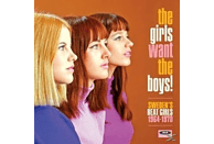 VARIOUS - The Girls Want The Boys! Swedens Beat Girls 1966-1 [CD]