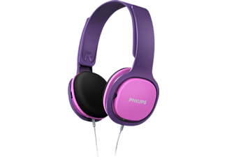 PHILIPS SHK2000PK/00, On-ear Kopfhörer, Pink/lila