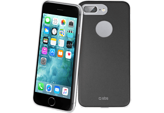 SBS MOBILE Slim Cover iPhone 7 Plus - Svart / Vit