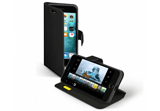 SBS MOBILE Bookcase Stand iPhone 7 Plus - Svart