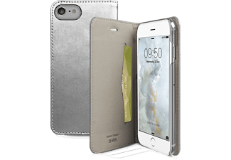 SBS MOBILE Book case för iPhone 7 - Silver
