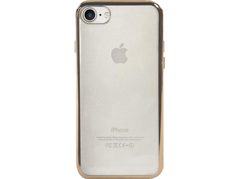 TUCANO IPH74EF-GL , Backcover, Apple, iPhone 7, Polycarbonat, Gold