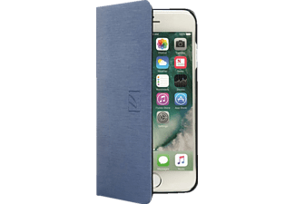 TUCANO IPH74FI-BS Bookcover Apple iPhone 7, iPhone 6s Kunstleder Blau