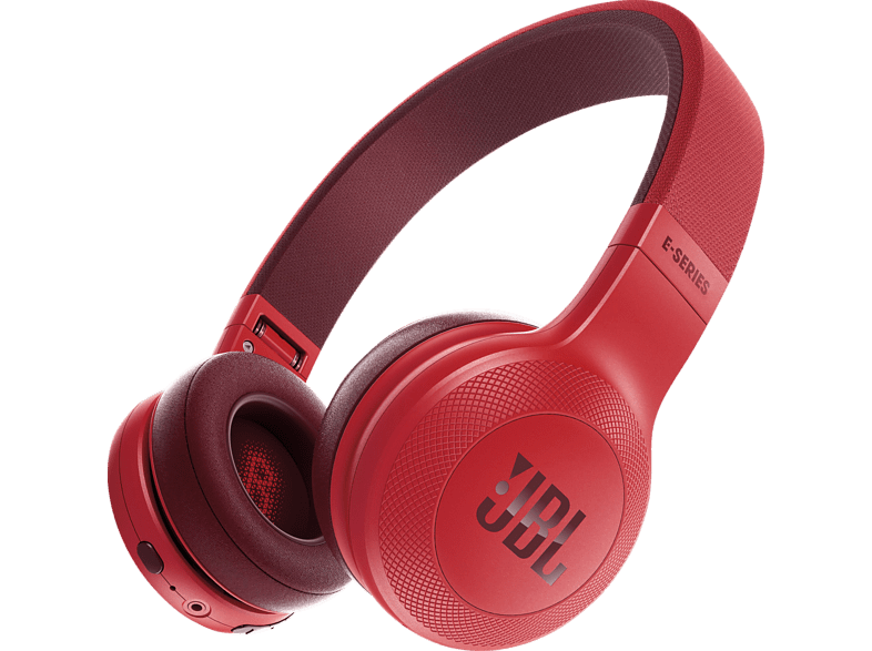 JBL E45BT, On-ear Kopfhörer Bluetooth Rot