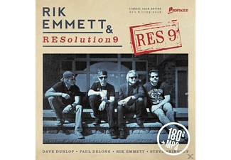 Rik/resolution 9 Emmett - RES9 (180 Gr.LP+MP3) - (LP + Download)