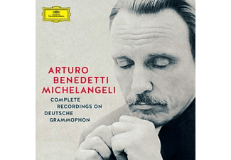 Arturo Benedetti Michelangeli - Complete Recordings on Deutsche Grammophon (CD)